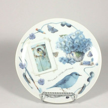 Natures Blues Marjolein Bastin Decorative plate, Hallmark collectible pl... - $45.55