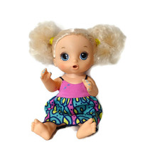 Hasbro Baby Alive Super Snacks Snackin Noodles Doll Blonde Hair Blue Eye... - $12.83