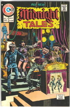 Midnight Tales Comic Book #10, Charlton Comics 1974 Very FINE/NEAR Mint - $14.98