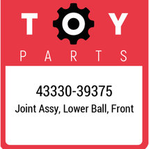 43330-39375 Toyota Ball Joint Lower, New Genuine OEM Part - $89.51