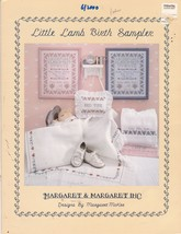 Little Lamb Birth Sampler Counted Cross Stitch Pattern OOP Margaret & Ma... - $12.00