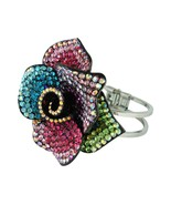 Anthony David Multi-Colored & Silver Rose Crystal Bracelet - $18.21