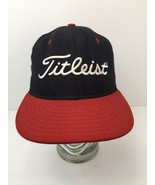 Vintage Titleist Foot Joy FJ Wool Hat Cap Red And Blue 59/50 USA Made 6 7/8 - $66.78