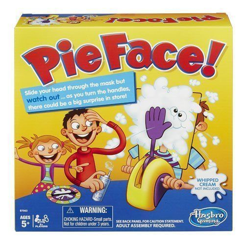 PIE FACE! Board Game Hasbro New US Seller 5+