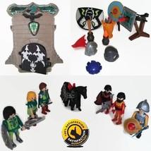 Original Playmobil Boys Knight Playset Castle Horse Weapon Accessories M... - $17.50