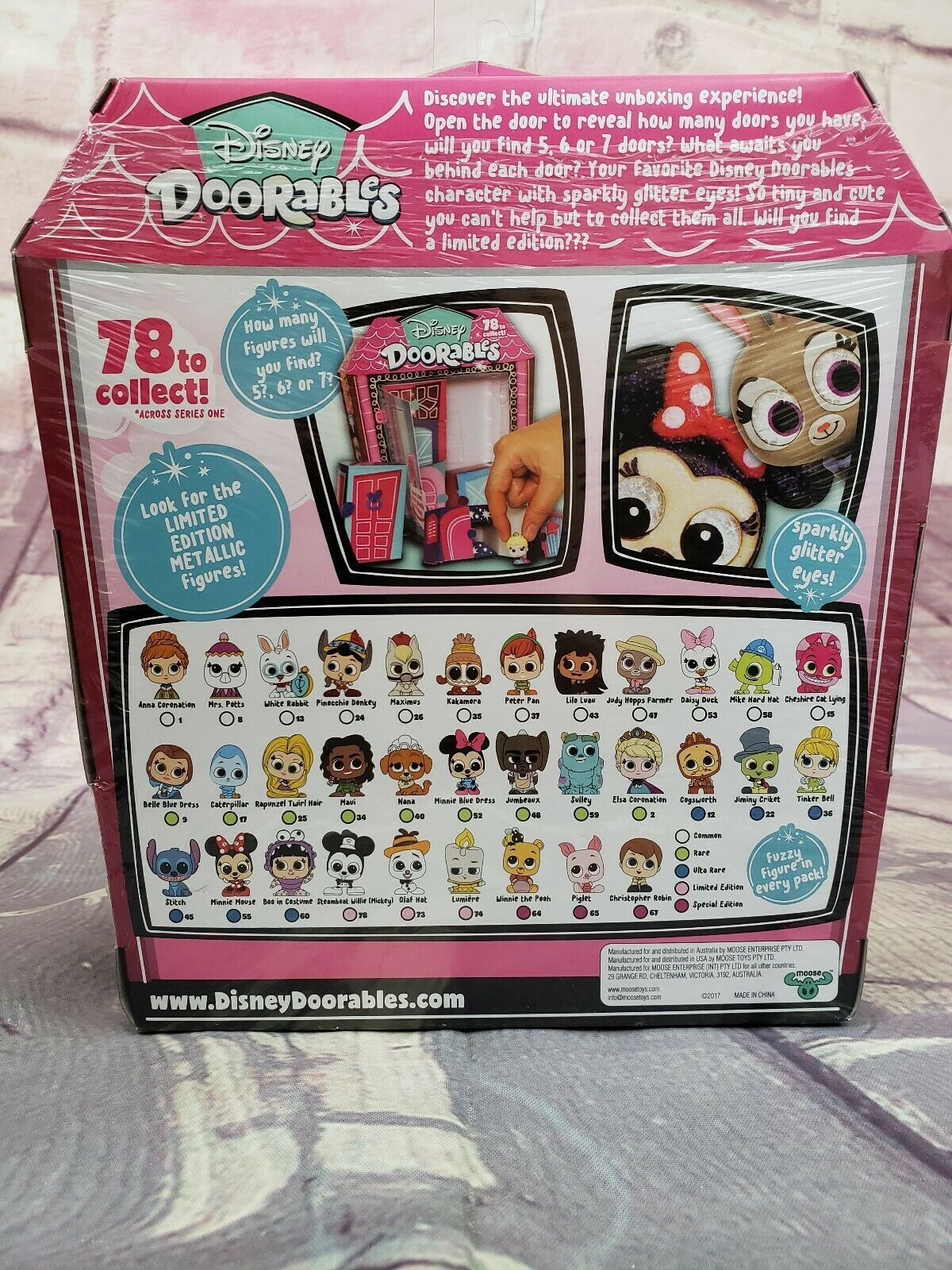 New Disney Doorables Multi Peek Series 1 Mystery Box (5? 6?or 7? Figures)