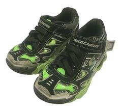 Skechers Boys Mega Flex Pistonz Spring Heels Athletic Sneakers Kid Size ... - $25.73
