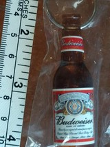 Budweiser Beer Bottle Key Chain Bottle Opener Vintage Collectible in sea... - $14.99