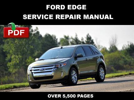 ford edge 2012 2013 2014 factory service and similar items rh bonanza com Ford Focus Manual Ford Focus Manual