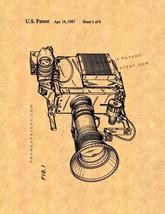 Video Camera Patent Print - $7.95+