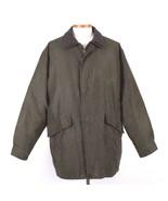 Rainforest Green Down Coat Insulated Heavy Winter Jacket Micro Fiber Men... - $68.30