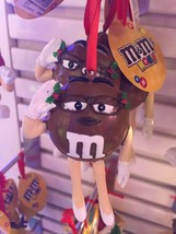 M&M's World Brown Holiday Christmas Ornament New with Tags - $15.14