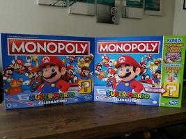 Monopoly Super Mario celebration bonus  - $80.00