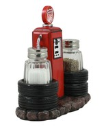 Highway Route 66 Old Fashioned Gas Pump Station Salt And Pepper Shakers ... - $46.17