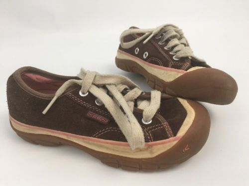 new arrival 89d9a a9f57 Keen Children Brown Tennis Shoe Pink Line and 50 similar items