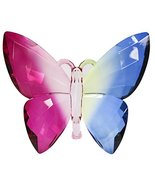Crystal Expressions Acrylic 5x5 Inch Butterfly Ornament/ Sun-Catcher … (... - $10.21