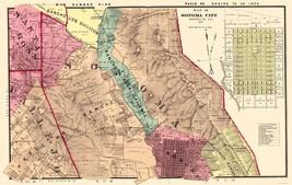 Sonoma Southeast County California - Thompson 1877 - 23.00 x 36.25 - $36.58+
