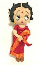 "Betty Boop Indian All Cloth Doll Sugar Loaf 2012 15"" Sari Bindi - $18.60"