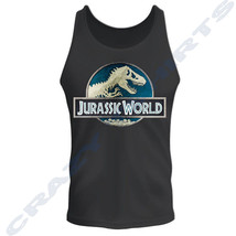 Jurassic Park Classic Movie Logo Licensed Adult Tank Top S-2XL - €12,10 EUR
