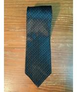 "Van Heusen 100% Silk Tie - 58"" x 3.75"", Black, Gold, Gray, EUC, Made in USA - $6.99"