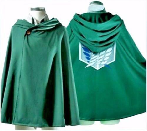 Anime-Shingeki--Kyojin-Cape - Attack-on-Titan clothes Cosplay NEW-USA