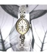 VINTAGE 50's ~ 60's SEIKO SOLAR Ladies Antique Fashion Watch Silver F/S ... - $85.70