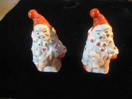 Mid-century Pottery JAPAN Clown riding pig Salt & Pepper shakers set - $5.00