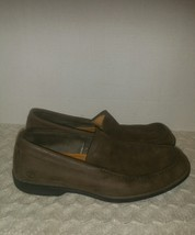 TIMBERLAND Mens Smart Comfort Slip On Brown Leather Loafers Shoes Mens 8 - $31.85 CAD