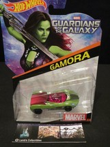Gamora Hot Wheels MARVEL Car #13 GUARDIANS of the GALAXY Rare HTF 2014 M... - $9.92