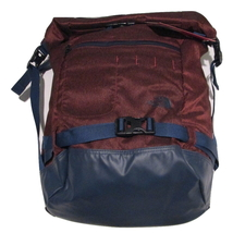 The North Face Pickford Rolltop Laptop Backpack - Red Heather/Cosmic Blue - $80.00