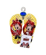 Disney Minnie Mouse or Mickey Mouse Flip Flop Sandals for Toddlers & Chi... - $4.99
