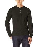Hanes Men's Long-Sleeve Beefy Henley T-Shirt 2 XL - $6.92