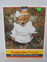 Kodacolor 550 Piece Jigsaw Puzzle Summer Stroll 1992 SEALED Teddy Bear - $11.87