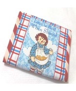 Raggedy Ann And Andy OOP Fabric Love Is Best Burp Pads - $8.90