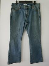 Levi's Womens 515 Classic Mid Rise Bootcut Boot Cut Medium Wash Jeans Si... - $24.75