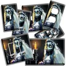 NIGHTMARE BEFORE CHRISTMAS BRIDE SALLY WEDDING DRESS LIGHT SWITCH OUTLET... - $10.99+