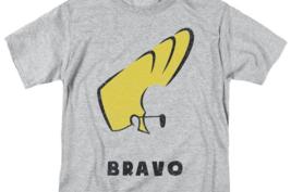 Johnny Bravo T-shirt cartoon network Retro 90's heather gray graphic tee CN504 image 3