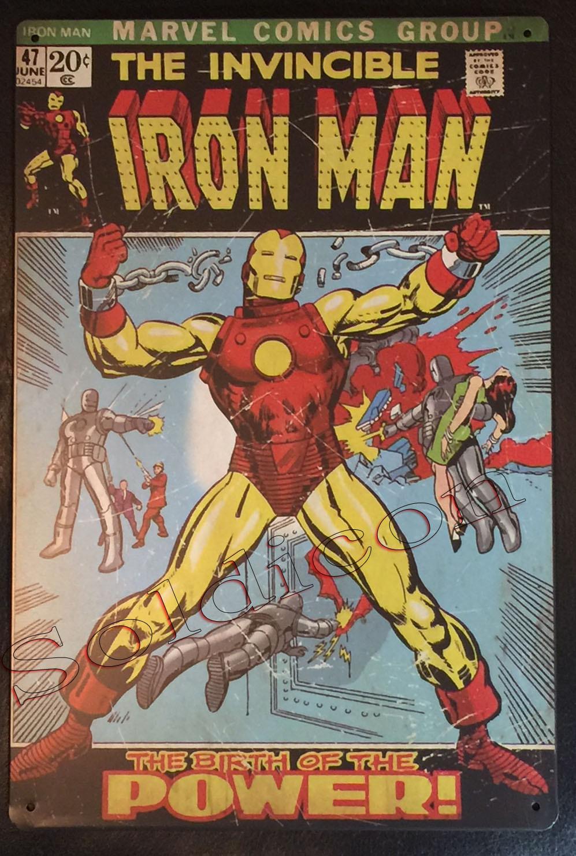 Iron man comics book