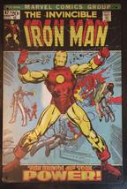 "Iron Man Comics Book 47 Wall Metal Sign plate Home decor 11.75"" x 7.8"" image 1"