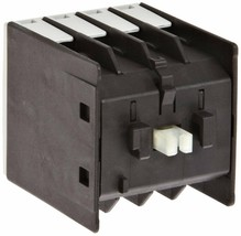 Siemens 3RH19 11-2GA40 Control Relay, Size S00, Snap On Auxiliary Switch Blocks - $11.88