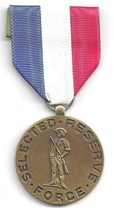 CONNECTICUT SELECTED RESERVE FORCE MEDAL 1965-1969 (USM 1287) - $19.79