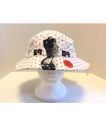 Pradagynyc White Graphic Bucket Hat Cap Cotton Fishing Street Wear Hype ... - $23.83