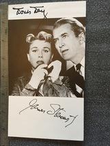 Doris Day James Stewart Hand-Signed Autograph Autogramm With Lifetime Gu... - $250.00