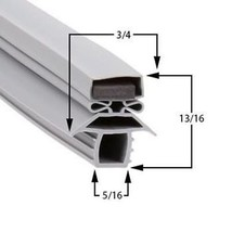 Commercial Refrigeration Gasket Traulsen AHT132WUT Part# (SER-27566-00) - $79.15