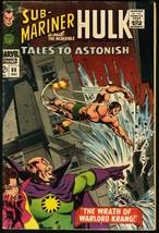 TALES TO ASTONISH #86-HULK/SUB-MARINER-1966 VG - $18.62