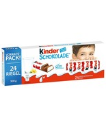 Ferrero Kinder Chocolate candy bars XL 300g MADE in Germany FREE SHIPPING - $18.66