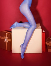 Tights Flash Sexy for Women Ouvert On Crotch/Tights IN Nylon Shiny - $10.31