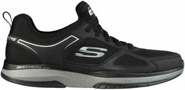 NEW Men's Skechers Burst Athletic Slip-On Memory Foam Shoes Black or Navy image 3
