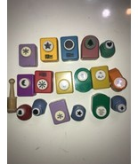 Paper Punch lot of 17 McGill craftivity and other type punchs bears, moo... - $46.74