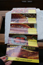 Old Vintage Beef Great on Grill Industry Council National Livestock & Me... - $9.99